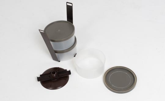 Термос порционный 3-х секционный «РОССИЯ», чаша пластик 0,6л