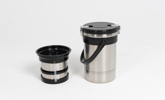 Термос порционный 2-х секционный, чаша нержавейка 0,6 л
